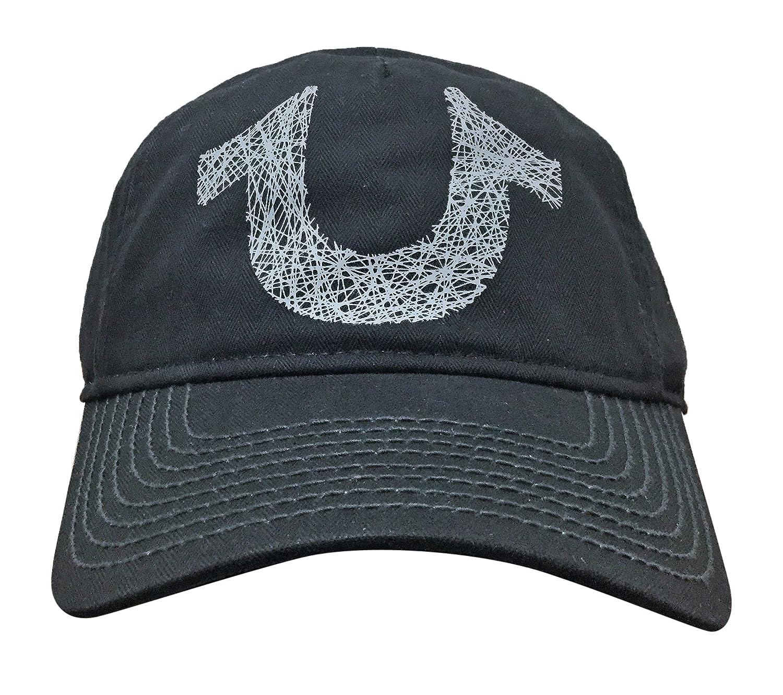 a867efad12d45 Amazon.com  True Religion Men s Shoe String Logo Ball Cap