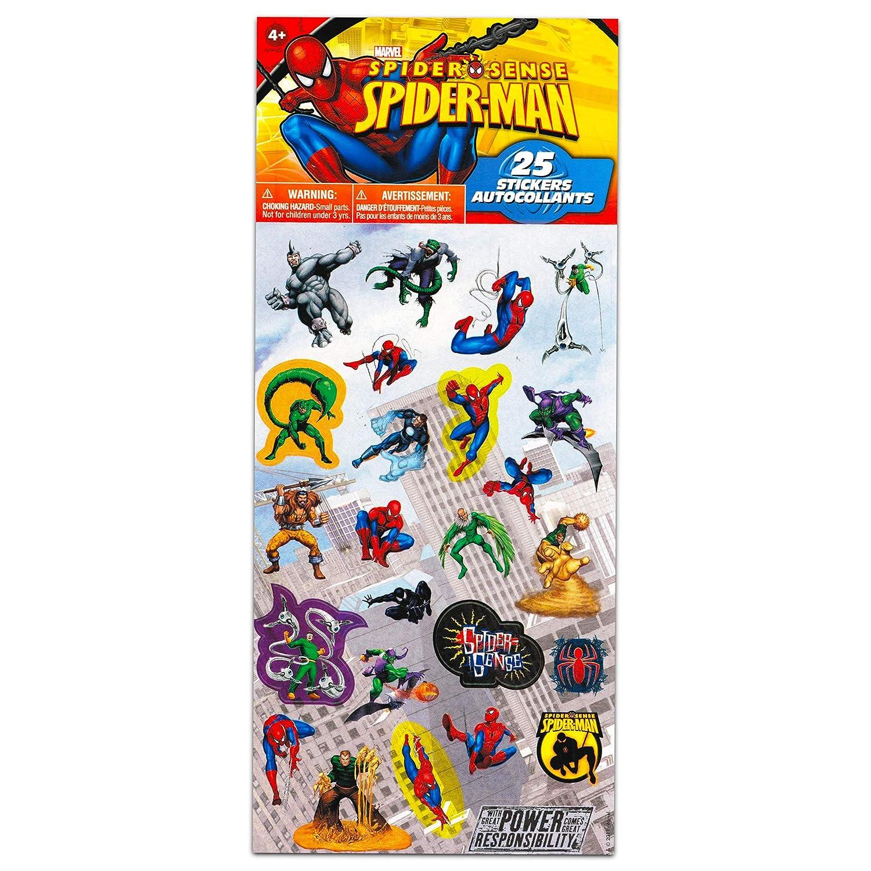 SPIDERMAN Return Address Labels Sheet of 30