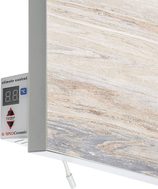 Teploceramic TCM-RA 750 Marmor 694542 Thermostat /à infrarouge 750 W
