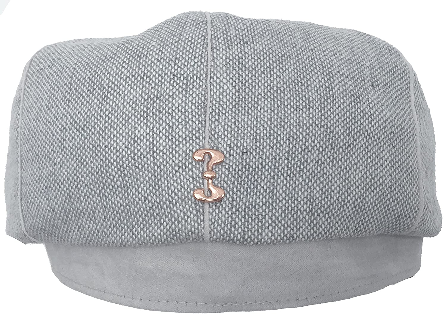 ab885e26c8e Who Ced Tweed Gatsby Cap (Grey X-Large) at Amazon Men s Clothing store