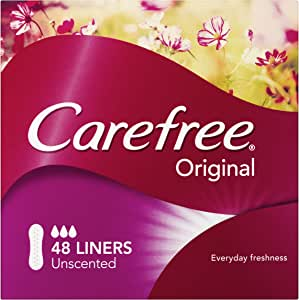 Carefree Liners Flat 48 Count