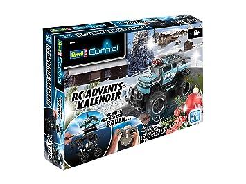 Revell Weihnachtskalender.Revell Control 01010 Advent Calendar Truck Blue