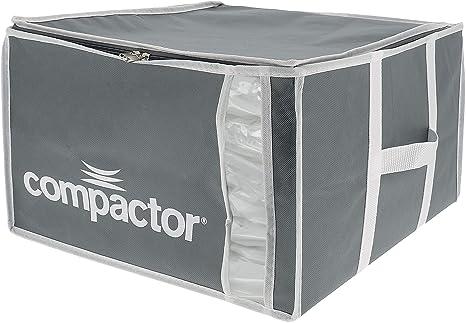 COMPACTOR Caja de Almacenaje Al Vacío, Talla M, 125 l, Gris/Blanco