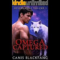 OMEGA Captured (Desert Wolf #1) - M/M Gay Werewolf Shifter Mpreg Romance (English Edition)