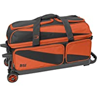 BSI - Rodillo Triple, Color Negro y Naranja