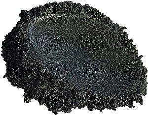 51g/1.8oz Black Diamond Mica Powder Pigment (Epoxy,Resin,Soap,Plastidip) Black Diamond Pigments 1.5oz by Weight