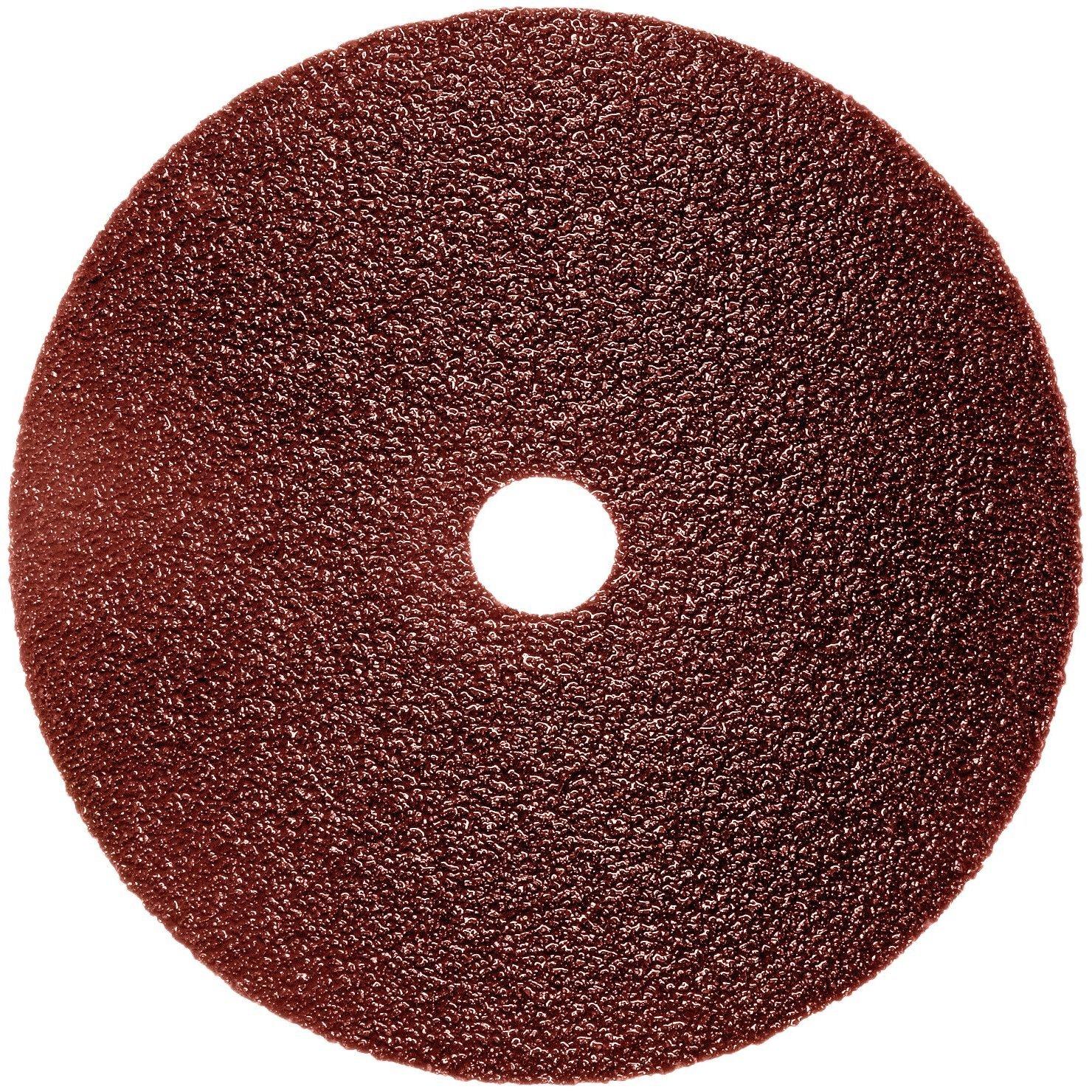 B001HBUM5O 3M Fibre Disc 381C, 24, 5 in x 7/8 in, Die 500P 91ajCF05rEL