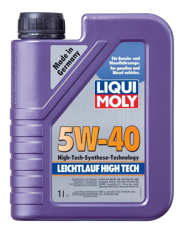Liqui Moly 3864 Leichtlauf High Tech Motorö l 5 W-40 5 Liter 2332