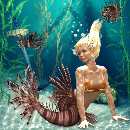 Hidden Garden Mermaids