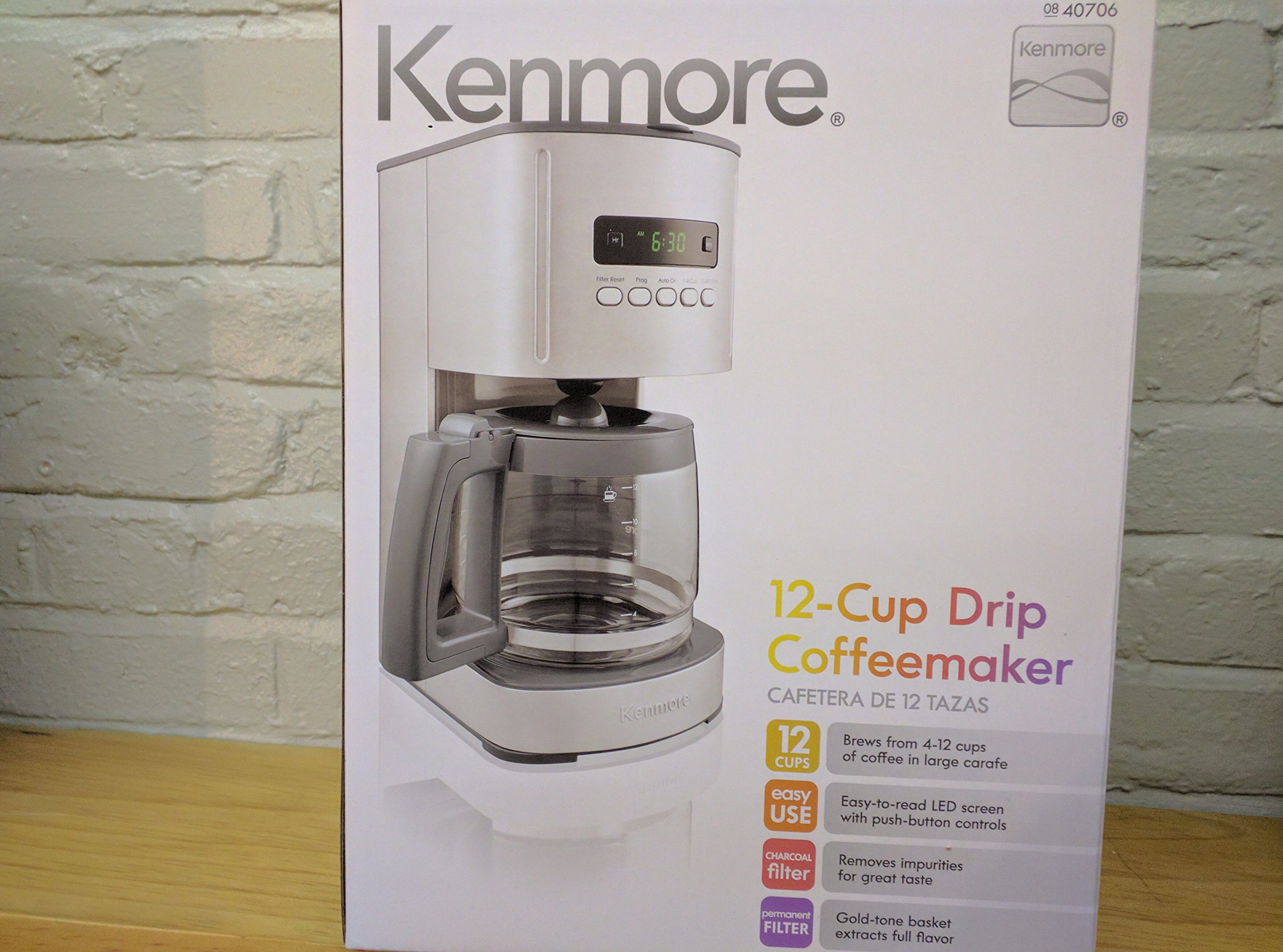 Compatible with Kenmore 100.40706310 Coffee Maker Carafe