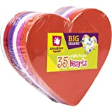 Foam Shapes 35/Pkg, Hearts