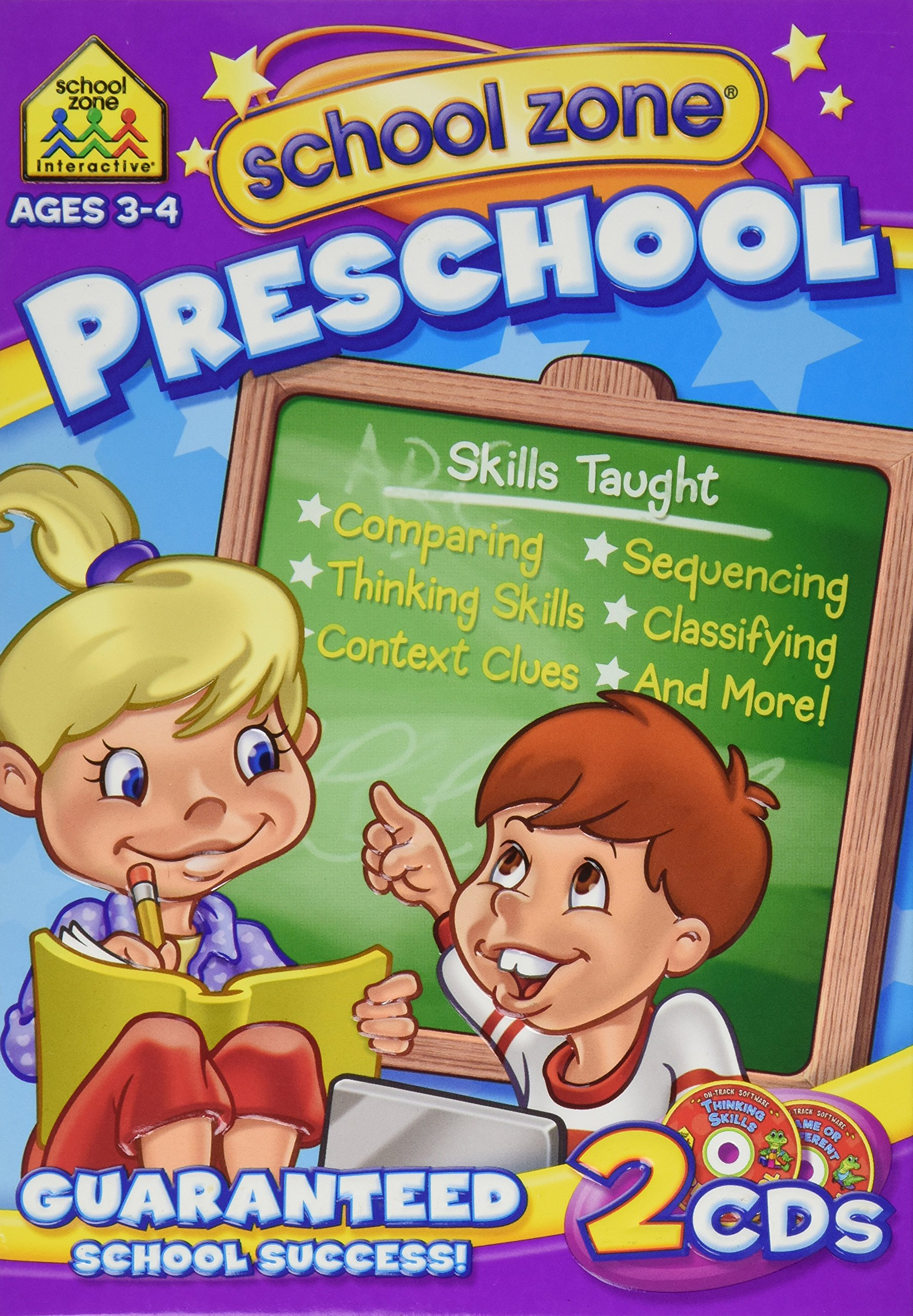 Preschool - 2 Pack Software [Old Version] by School Zone