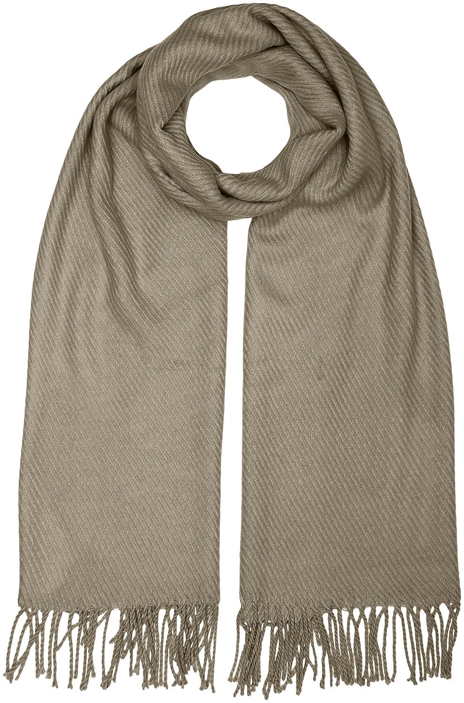 PIECES Kial Long Scarf Noos, Bufanda para Mujer Bufanda Mujer Amarillo (Nugget Gold) Talla única 17057386