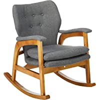 Superb Christopher Knight Home Bethany Mid Century Fabric Rocking Ibusinesslaw Wood Chair Design Ideas Ibusinesslaworg