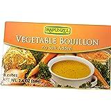 Rapunzel - Vegetable Bouillon Cubes - No Salt Added, 2.4 oz( 2 Pack )