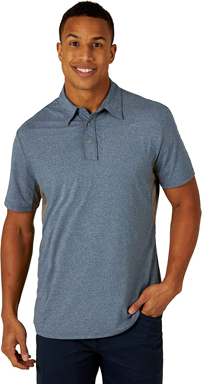 Den Below Mens Regular-Fit Cotton Polo Shirt Short Sleeve You Know And Good Hid