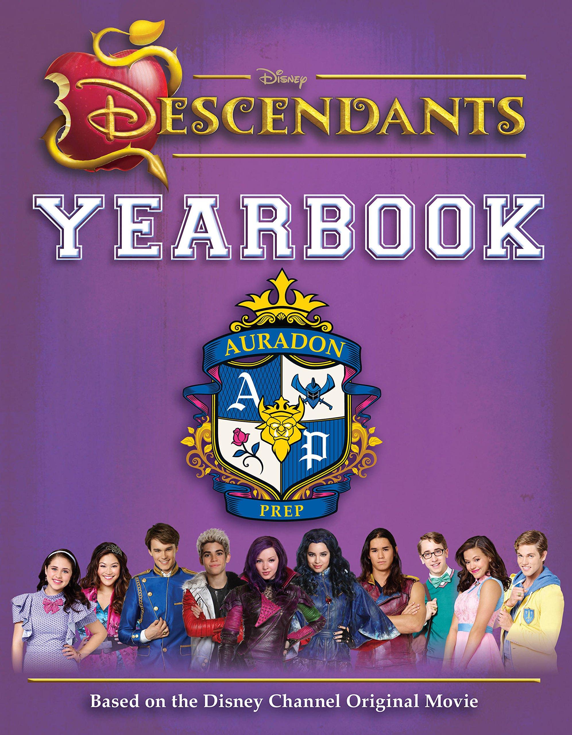 Disney Descendants Yearbook Disney 9781618931580 Amazon Com Books