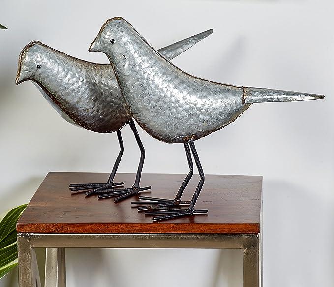 20,3 x 30,5 cm P/óster decorativo de metal con dise/ño de pastor alem/án Look Right Beside You