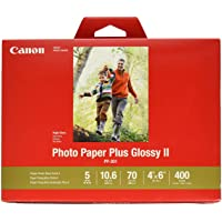 "CanonInk Photo Paper Plus Glossy II 4"" x 6"" 400 Sheets (1432C007)"