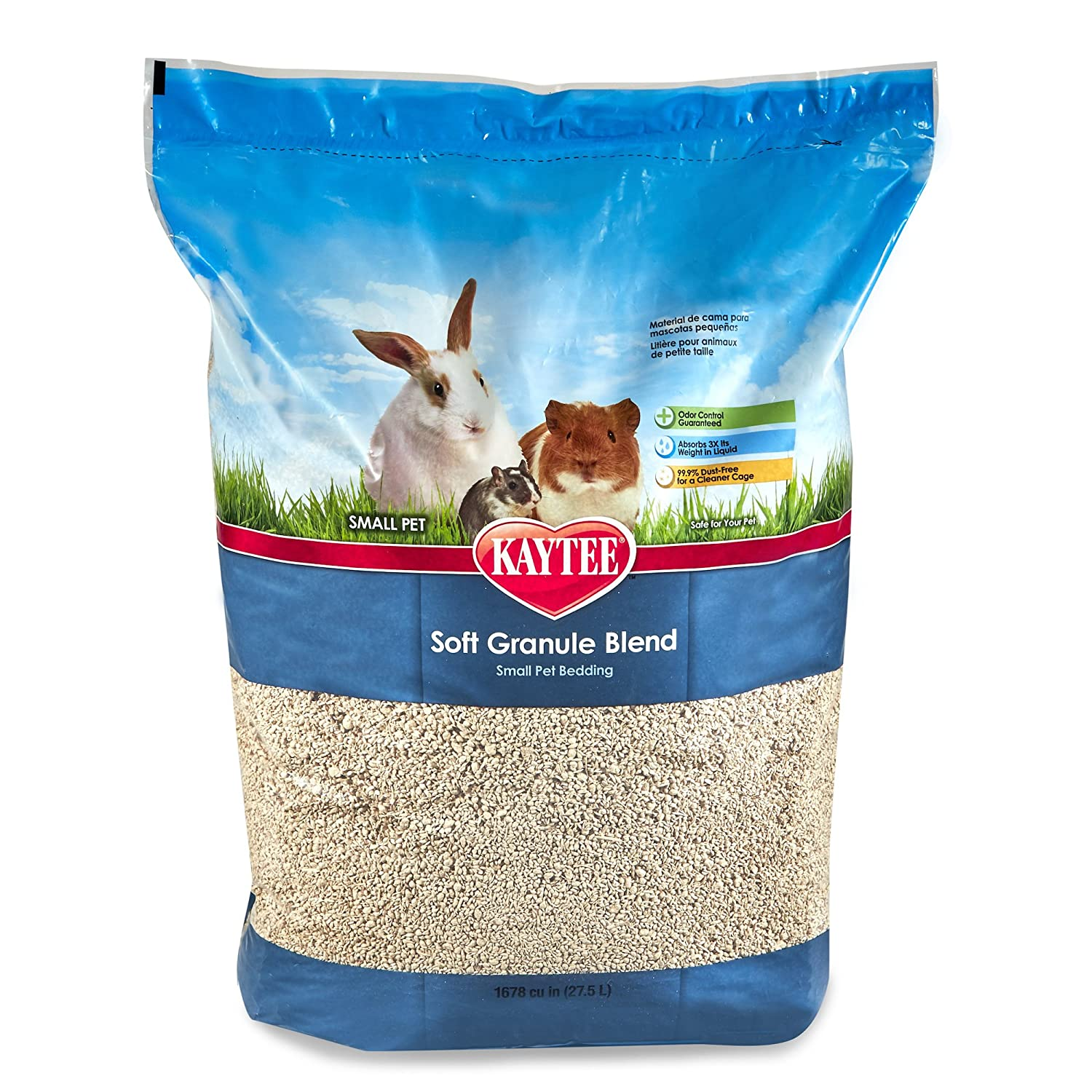 Kaytee Soft Granule Blend Lavender Bedding for Pet Cages, 10 Liter 100034318