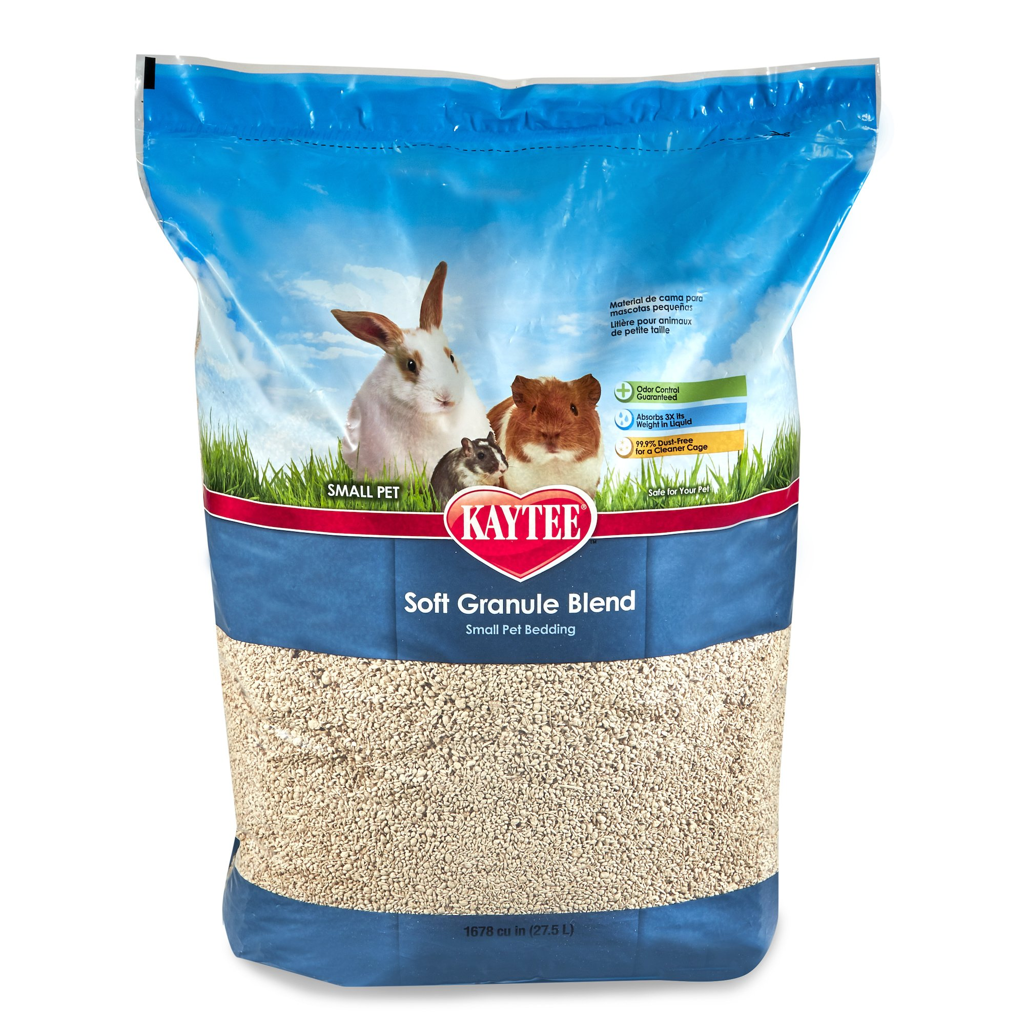 Kaytee Soft Granule Blend Bedding, 27.5 Liter