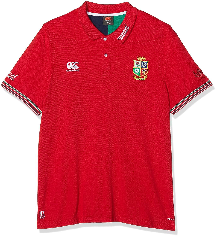 Canterbury Herren Poloshirt Vapodri, British and Irish Lions, Trainings-Poloshirt S