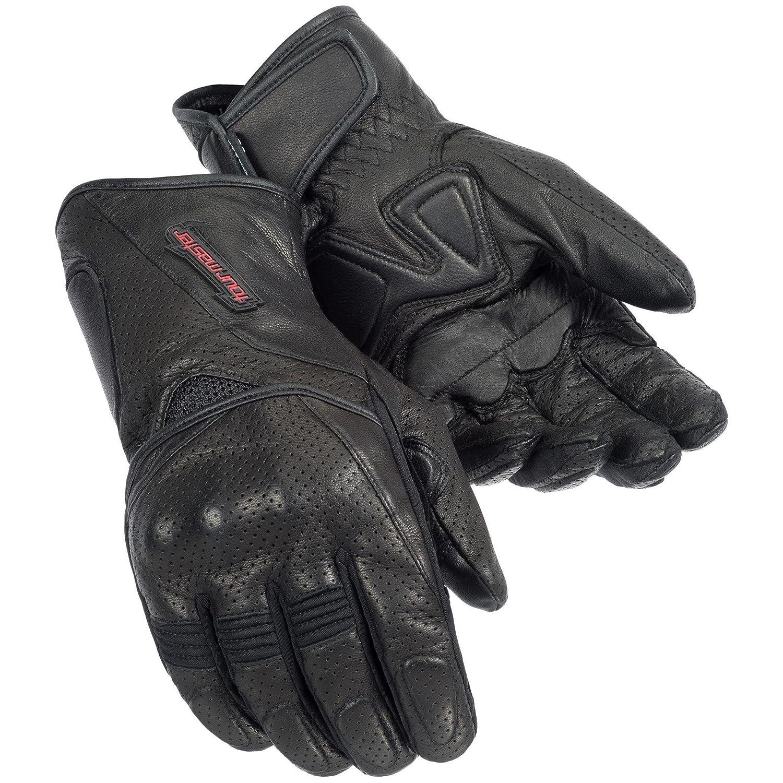 Tourmaster dri-perfジェル手袋 L ブラック Large ブラック B00QL33CS2