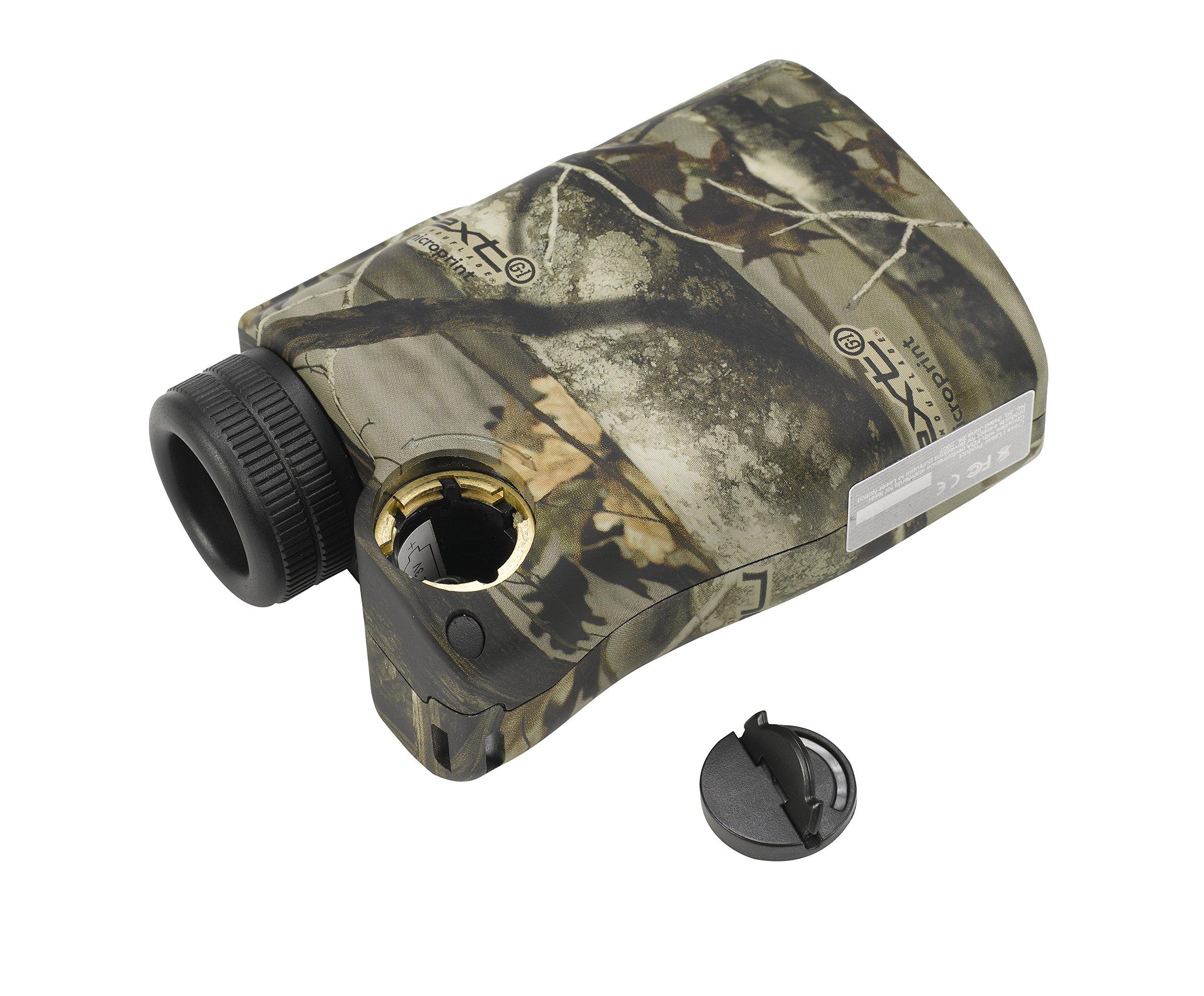 Finnhomy 6 x 25mm Laser Binocular Rangefinder Distance Range Finder Speed Distance Measurement Scope 600 Yards Outdoor Activity Hunting Golf Racing Climbing Navigation Forestry Waterproof Free Battery by Finnhomy (Image #4)