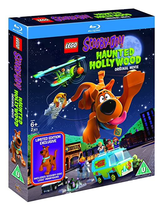 Lego Scooby Doo!: Haunted Hollywood (Includes Limited Edition Lego Minifigure)[Blu Ray] [2016] [Region Free] by Amazon
