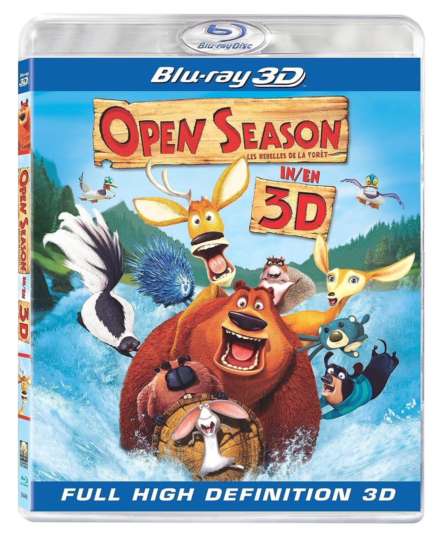 Open Season - Les Rebelles de la forêt [Blu-ray 3D] (Bilingual) Martin Lawrence