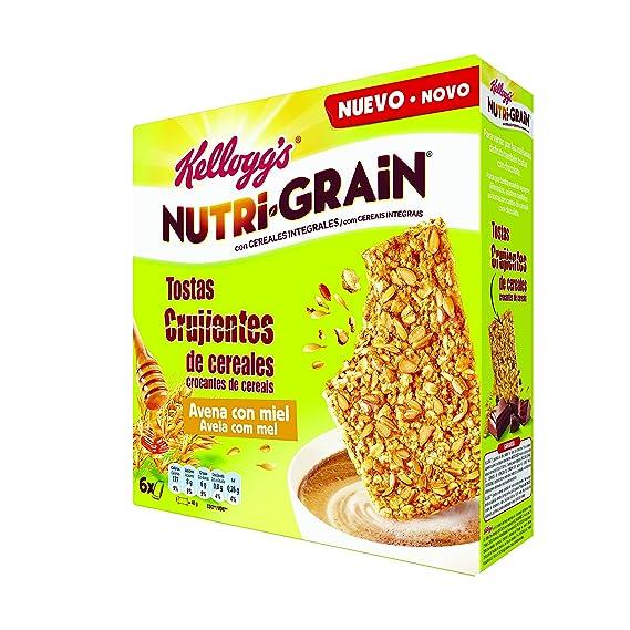 Nutri - Grain galletas crujientes de cereales con avena y miel 6x40g