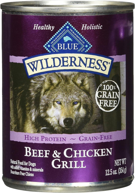 Blue Buffalo Blue Wilderness Adult Recipe - Beef & Chicken, 12.5 Oz