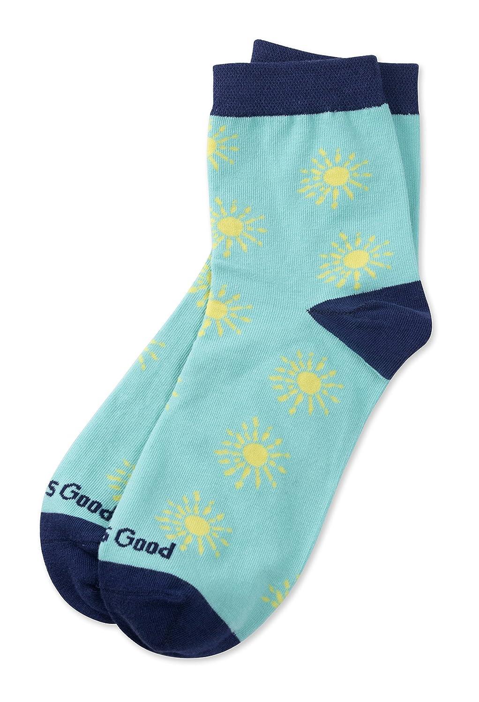 Life is Good Womens Anklet Socks