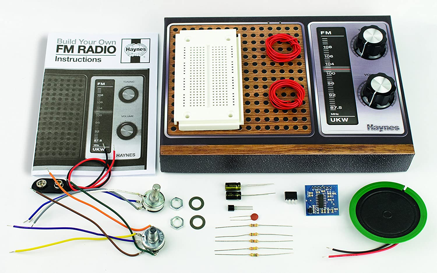 Haynes Retro Radio Kit Build Your Own Working Fm Circuit Toys Games