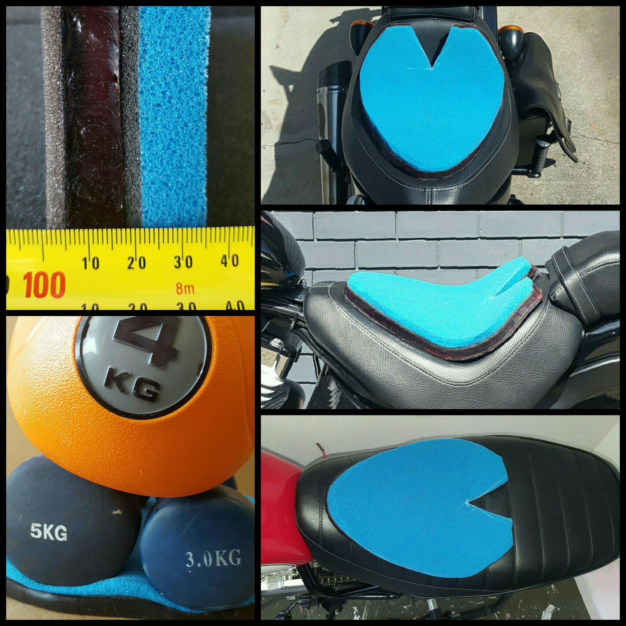 Motorcycle Gel Seat Cushion