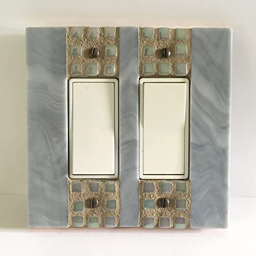 Amazoncom Gray Switch Plate Stained Glass Wall Switch Decorative