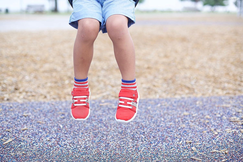 Stride Rite Boys 3-Pack Quarter Socks