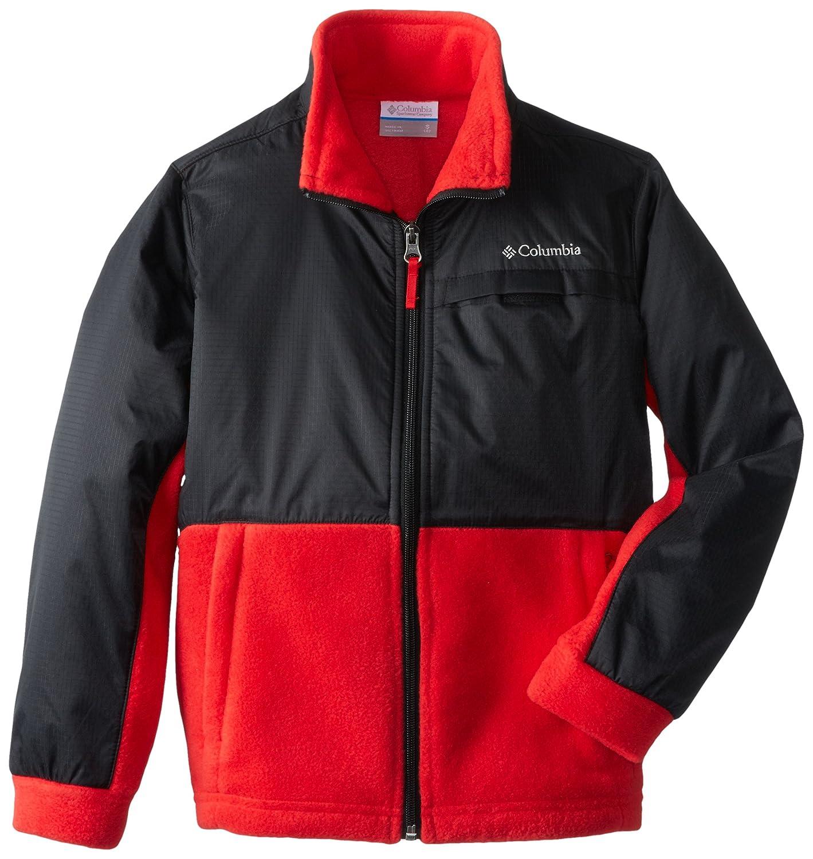Columbia Boys Steens MT Overlay Fleece Jacket
