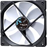 Fractal Design Dynamic X2 GP-14 Computer Fan - Silent Fan - High Airflow – 140x140x25 mm – 1000RPM – Hydraulic Fdb Bearings –