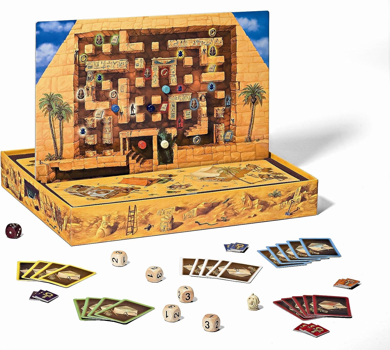 Ravensburger 26464 Fluch Der Mumie - Juego de Mesa [Importado de Alemania]: Amazon.es: Juguetes y juegos