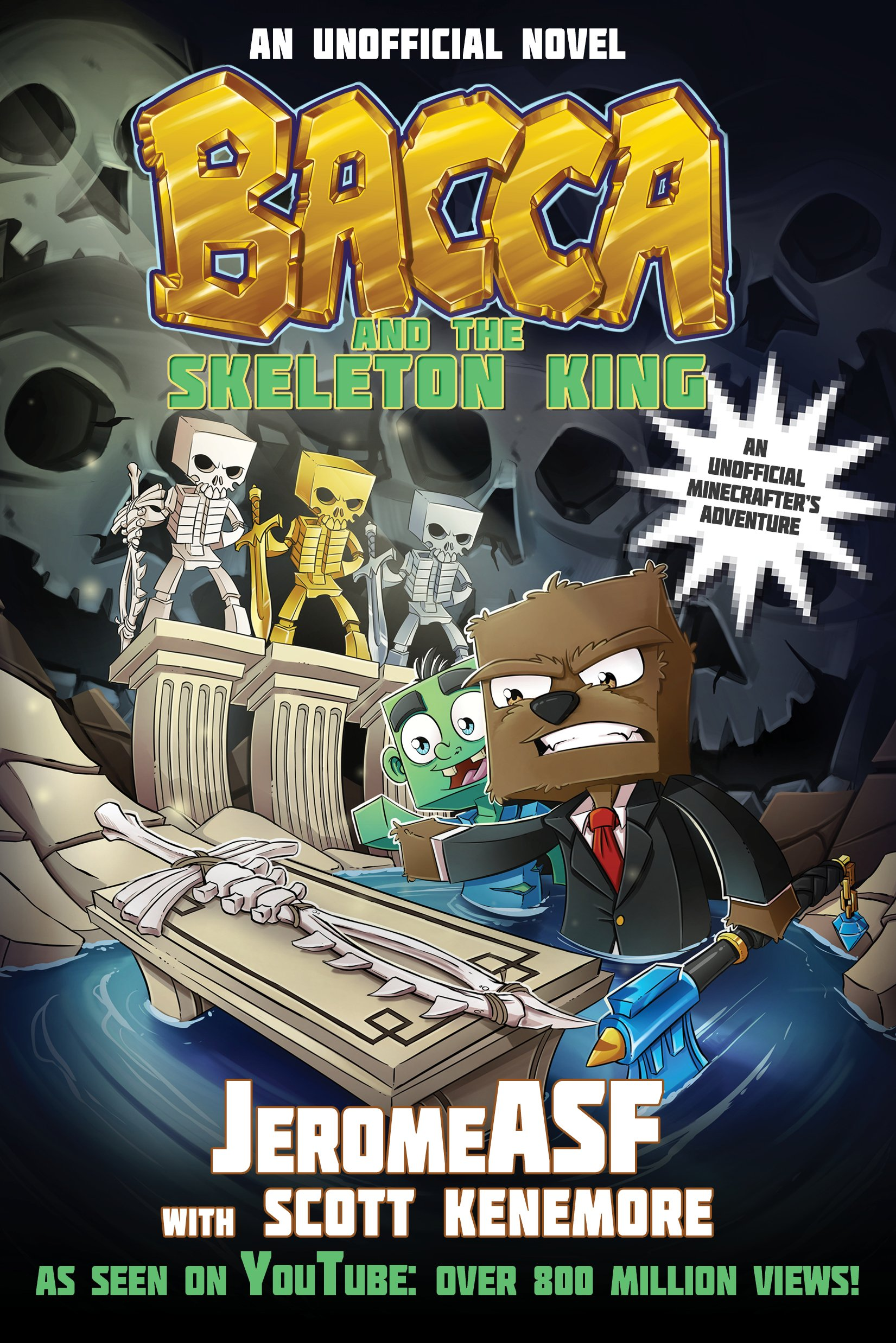 Download Bacca and the Skeleton King: An Unofficial Minecrafter's Adventure (Minecraft Gamer's Adventure) pdf epub