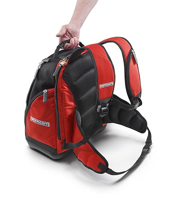Amazon.com: Facom BS.L30PG Backpack with Tool Organiser by Facom: Home Improvement
