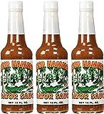 Gator Hammock Gator Sauce - 10 Ounce Bottles, 3 Pack