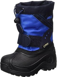 Kamik Unisex-Kinder SNOWCOAST4 Schneestiefel, Blau (Blue Blu), 26 EU