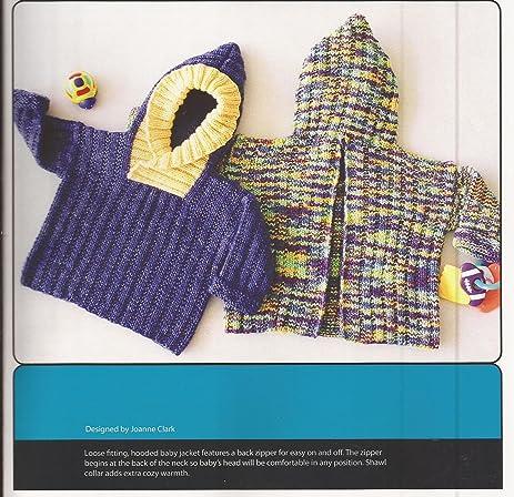 Amazon back zip baby jacket fiber trends knitting pattern ch 39 back zip baby jacket fiber trends knitting pattern ch 39 nb 15mos dt1010fo
