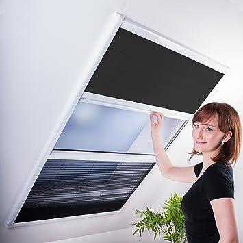 Kombi Dachfenster Plissee Sonnenschutz Fliegengitter Fur