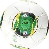 adidas Fußball FIFA Confed Cup Original Matchball, White/Vivid Yellow, 5, Z19458