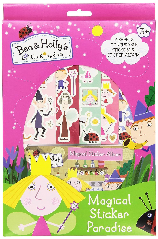 Alligator Books Ben and Hollys Sticker Paradise - 6 láminas ...