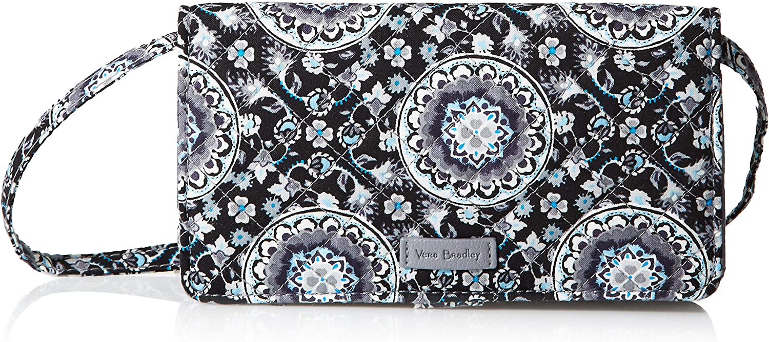Vera Bradley Signature Cotton All Together Crossbody Purse with RFID Protection