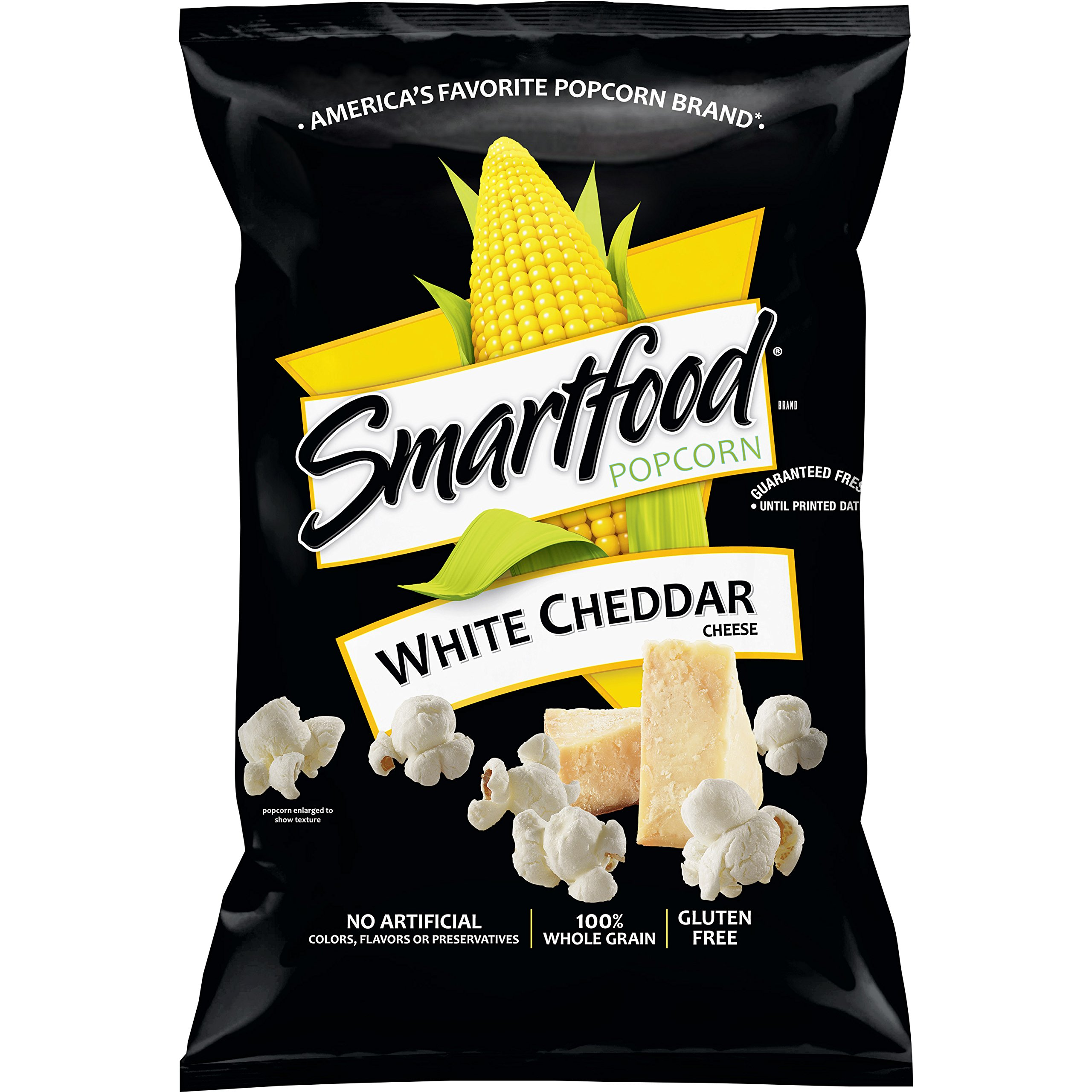 Smartfood White Cheddar Flavored Popcorn, 2.25 Ounce